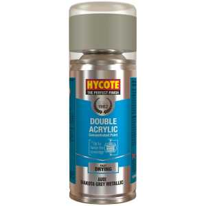 Hycote Audi Dakota Grey Metallic Spray Paint 150Ml Xdad505-0