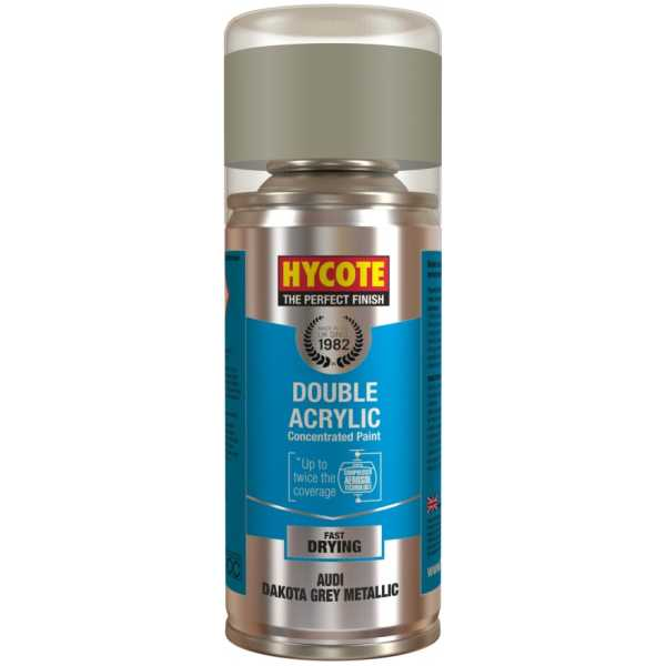 Hycote Audi Dakota Grey Metallic Spray Paint 150Ml Xdad505-0