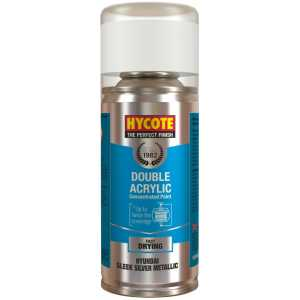 Hycote Hyundai Sleek Silver Metallic Spray Paint 150Ml Xdhy603-0