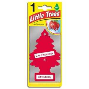 Magic Tree Little Trees Strawberry Car Home Air Freshener-0