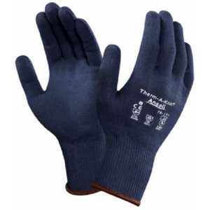 Ansell ActivArmr 78-101 (Ex. Therm A Knit) Blue Thermal Warm Winter Gloves-0