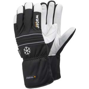Pair Tegera 296 Winter Lined Waterproof Leather Gloves 3XL-0