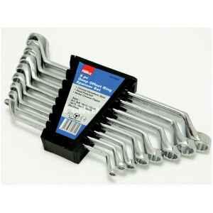 Hilka 8 pce Ring Spanner Set Metric Pro Craft 16700802-0
