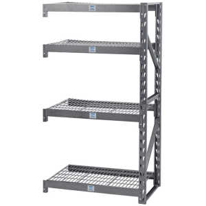 Draper Expert Heavy Duty Steel 4 Shelving Extension Unit - 1040 x 610 x 1830mm 05231-0
