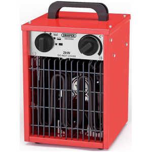 Draper 2kW 230V Space Heater 07216-0