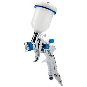Draper 100ml Gravity Feed HVLP Air Spray Gun 09708-0