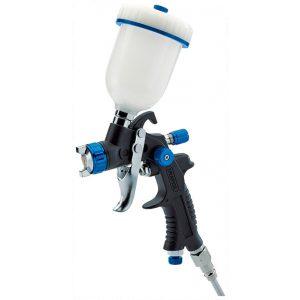 Draper 100ml Gravity Feed HVLP Composite Body Air Spray Gun 09709-0