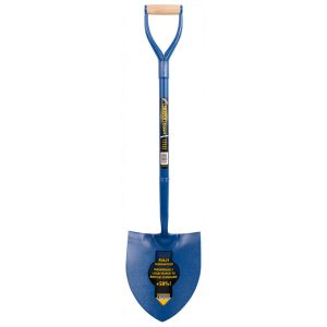 Draper Contractors Solid Forged Round Mouth Shovel 15071-0