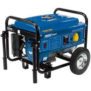 Draper Petrol Generator with Wheels (2.2kVA/2.0kW) 16066-0