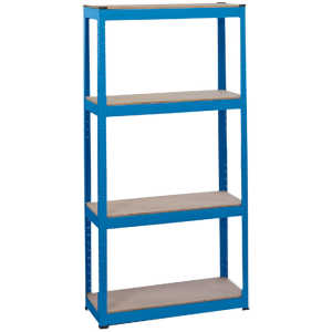 Draper Steel Shelving Unit - Four Shelves (L760 x W300 x H1520mm) 21658-0