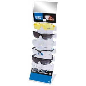 Draper Countertop Display of Six Safety Spectacles 23341-0