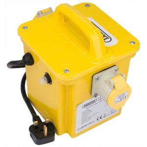 Draper 1.5kVA 230V to 110V Portable Site Transformer 31263-0