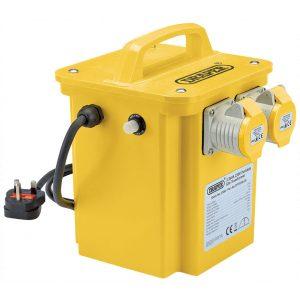 Draper 3.3kVA 230V to 110V Portable Site Transformer 31264-0