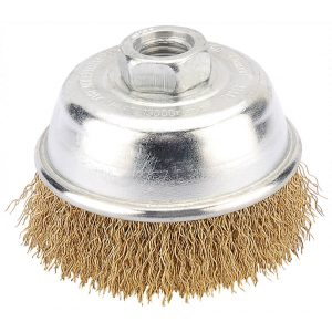 Draper 75mm Heavy Duty Wire Cup Brush with M14 Thread 41442-0