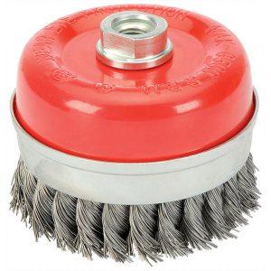 Draper 100mm x M14 Twist Knot Wire Cup Brush 41450-0