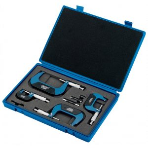 Draper Expert 4 Piece Metric External Micrometer Set 46607-0