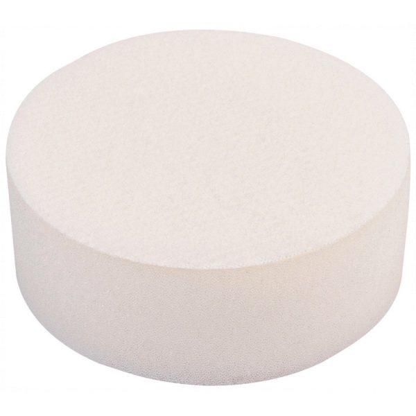 Draper 90mm Polishing Sponge - White 48198-0