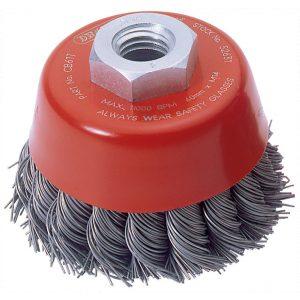 Draper Expert 60mm x M14 Twist Knot Wire Cup Brush 52631-0