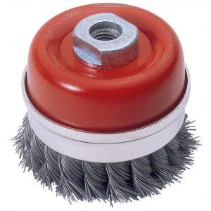 Draper Expert 80mm x M14 Twist Knot Wire Cup Brush 52632-0