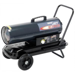 Draper Jet Force, Diesel, Kerosene and Paraffin Space Heater 75,000 BTU (22kW) 53926-0