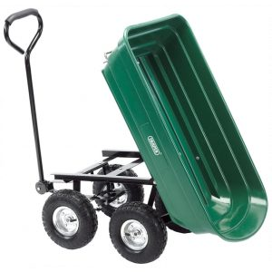 Draper Gardeners Cart with Tipping Feature 58553-0