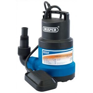 Draper Submersible Water Pump with Float Switch (191L/min) 61584-0