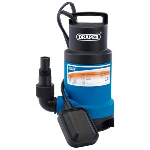 Draper Submersible Dirty Water Pump with Float Switch (166L/min) 61621-0