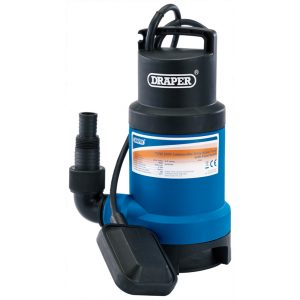 Draper Submersible Dirty Water Pump with Float Switch (200L/min) 61667-0
