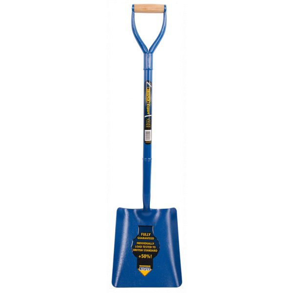 Draper Expert Solid Forged Contractors Square Mouth Shovel 64327-0