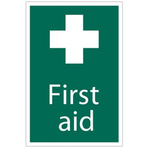 Draper 'First Aid' Safety Sign 72534-0