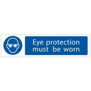 Draper 'Eye Protection' Mandatory Sign 73085-0