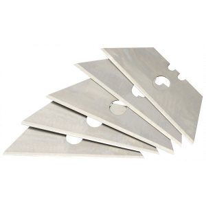 Draper Card of 5 Two Notch Trimming Knife Blades 73203-0