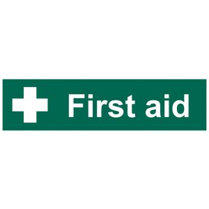 Draper 'First Aid' Safety Sign 73263-0