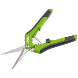 Draper 165mm Soft Grip Precision Straight Pruning Secateur 73728-0