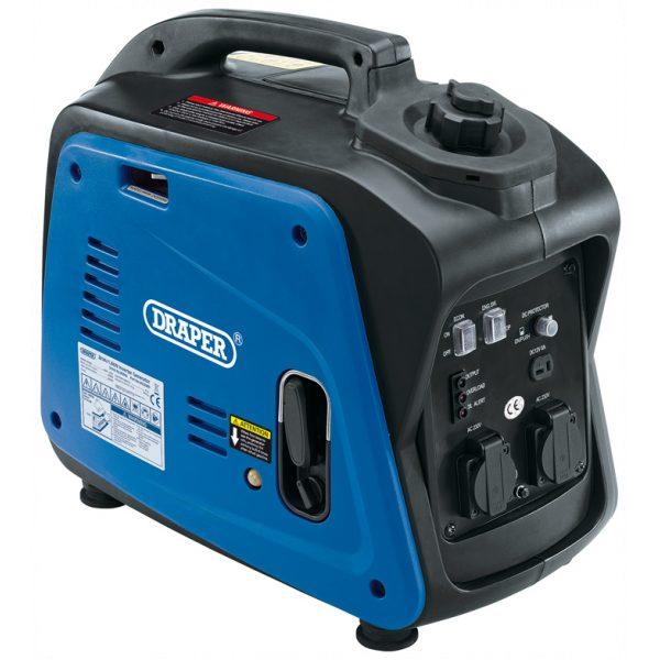 Draper 2kVA Petrol Inverter Generator 80956-0