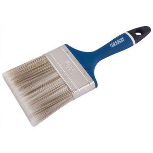 "Draper Soft Grip Handle Paint-Brush 100mm (4"") 82494-0"