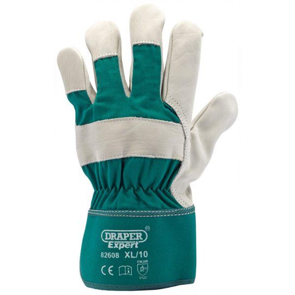 Draper Premium Leather Gardening Gloves - XL 82608-0