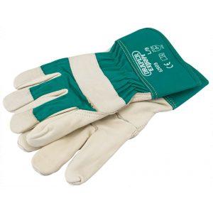 Draper Premium Leather Gardening Gloves - L 82609-0