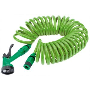 Draper 10M Recoil Hose with Spray Gun and Tap Connector 83984-0
