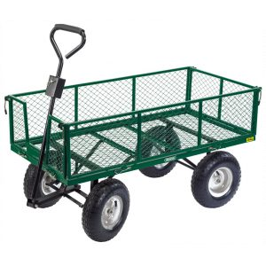 Draper Gardener's Heavy Duty Steel Mesh Cart 85634-0