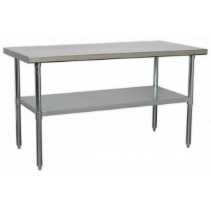 Sealey AP1560SS Stainless Steel Workbench 1.5m-0