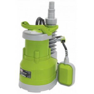 Sealey WPC100P Submersible Water Pump Automatic 100L/min 230V-0