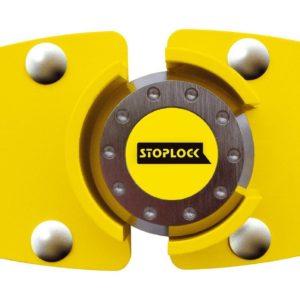stoplock van lock yellow