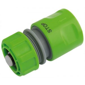 """Draper 1/2"""" Bsp Hose Connector With Water Stop Feature-0"""