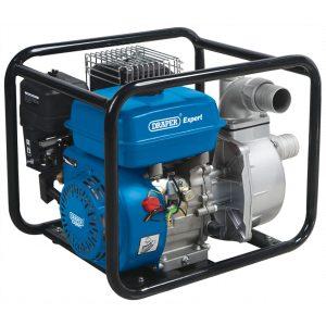 Draper 500l/Min 4.8hp Petrol Water Pump (50mm)-0