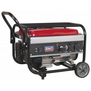 Sealey G3101 Generator 3100W 230V 7hp-0