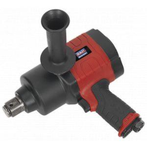 "Sealey GSA6005 Air Impact Wrench 1""Sq Drive Twin Hammer-0"