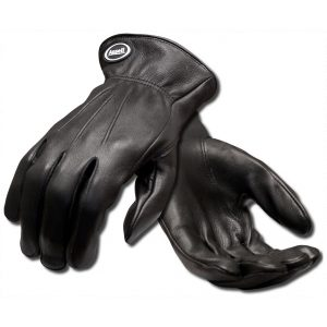 Ansell 97-978 Projex Driver Black Leather Gloves-0