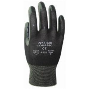 Marigold NYT630 Premium Black Nitrile Coated Work Gloves-0