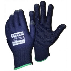 Polyco Matrix D Grip TS Touch Screen Dot Grip Palm Gloves-0